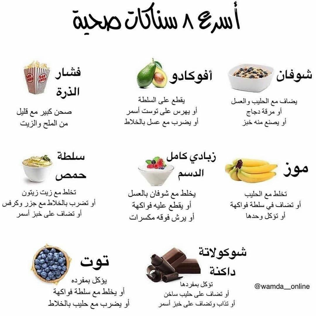 1 080 Likes 12 Comments اخصائية تغذية Health Food9 On Instagram اذا عجبك الموضوع اثبت و Health Fitness Food Health Facts Food Nutrition And Dietetics