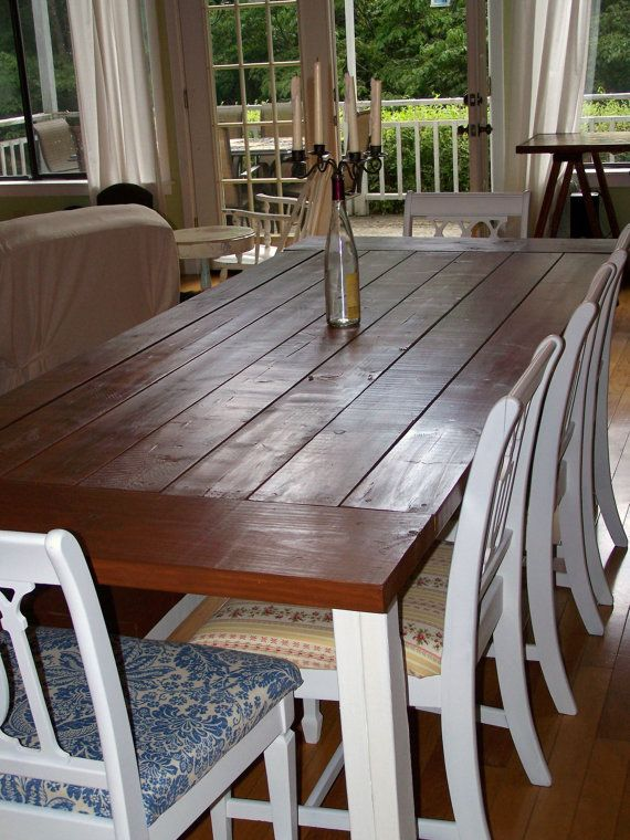 Farm House Table Available For Sale In Atlanta On Etsy  Dinning Amusing Farmhouse Dining Room Table For Sale Decorating Design