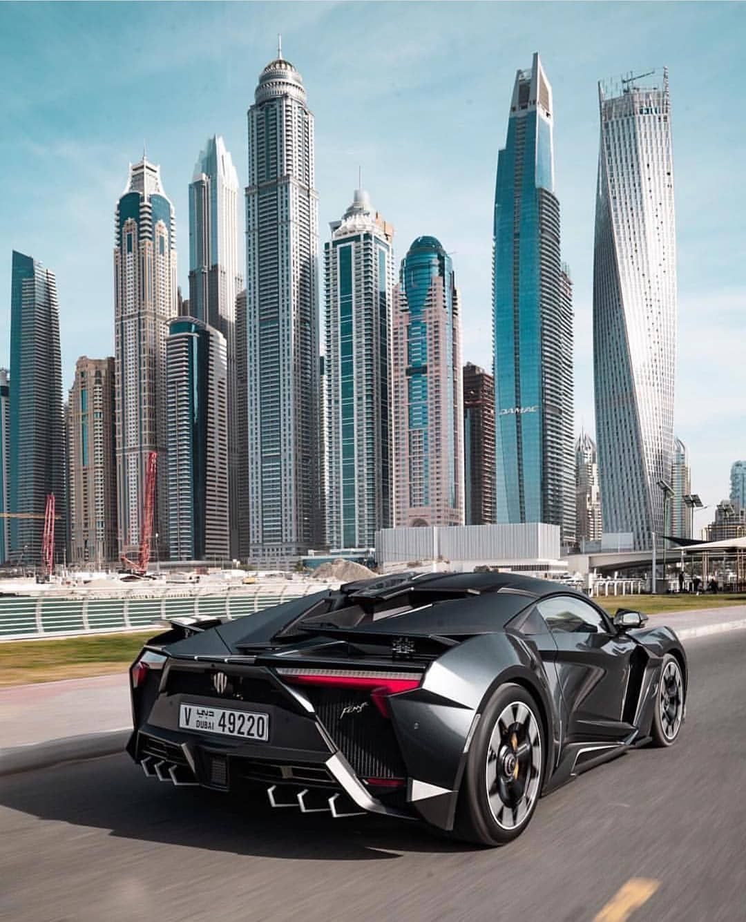 Luxury Motivation Cars On Instagram Lykan Hyperspot Views In The Uae A Whopping 3 4 Million Car That Can Go 0 100 In 2 8 Dubai Cars Super Cars Car