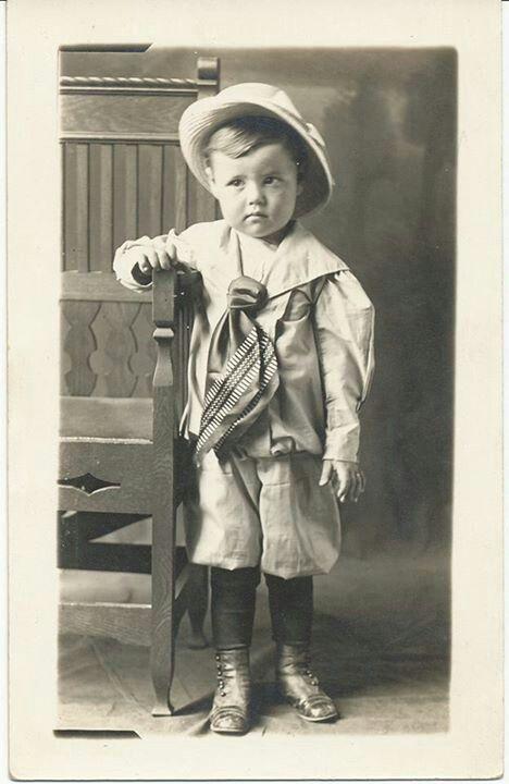 Little boy in 1913.