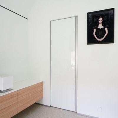 Portes Intérieures Blanches Design Sans Cadre. Le Cadre Est