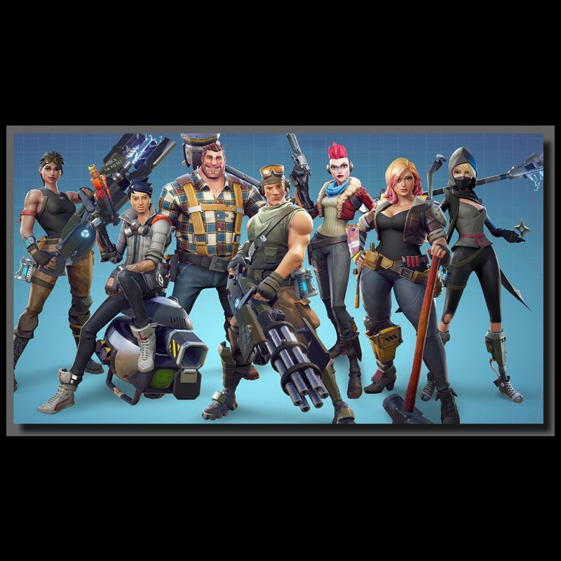 Fortnite Group Inspired Gaming Posters Video Game Cakes Battle Royale Game