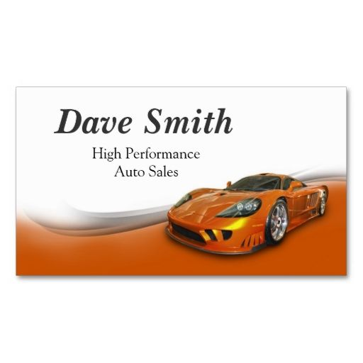 High performance automotive sales service business card high performance automotive sales and service double sided standard business cards pack of 100 this is a fully customizable business card and available colourmoves