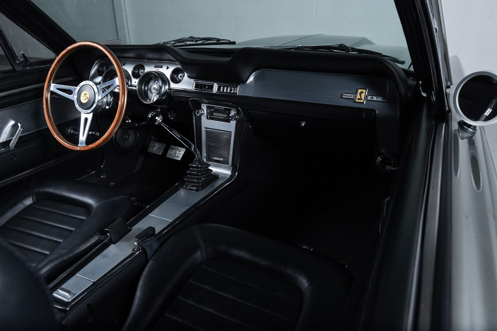 1967 ford mustang fastback eleanor tribute interior