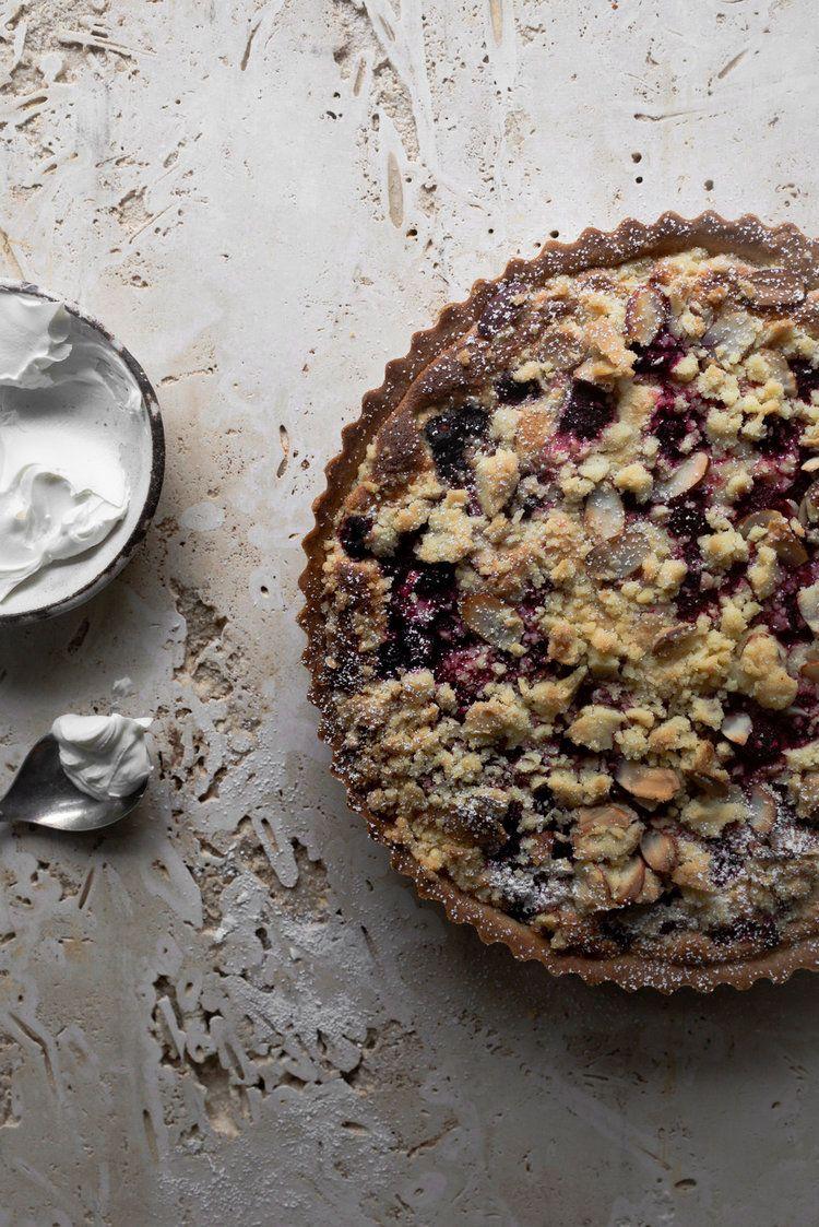 Raspberry Almond Streusel Tart Almond Recipes Frangipane Tart