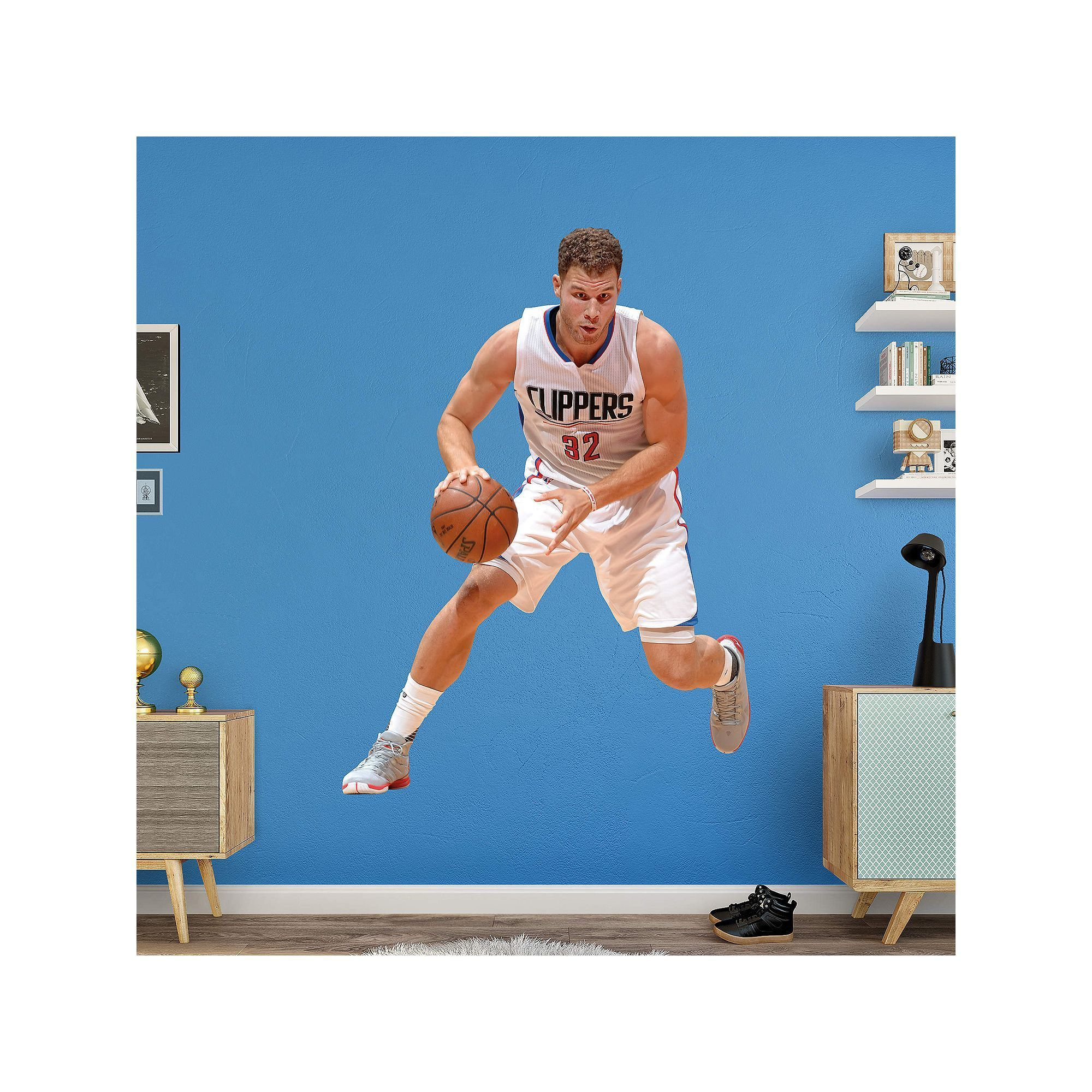 Los Angeles Clippers Blake Griffin Wall Decal by Fathead, Multicolor
