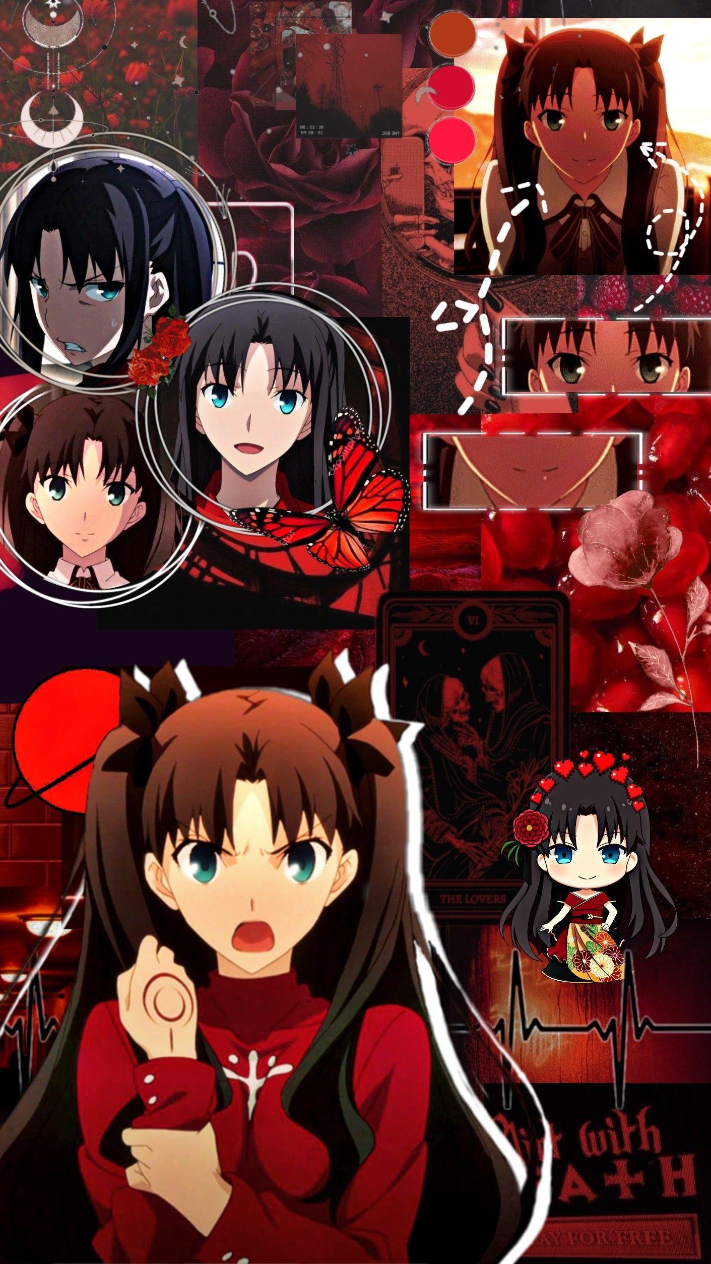 Rin Tohsaka Aesthetic Wallpaper Anime Aesthetic Wallpapers Anime Art