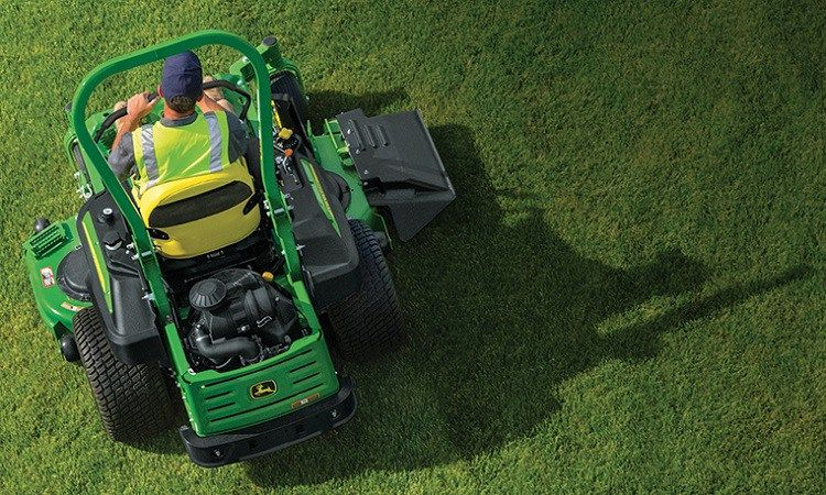 Zero-turn mowers are the top choice for commercial lawn care