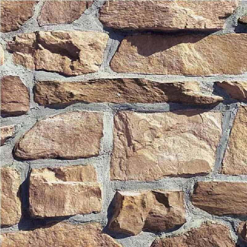 Exterior Stone Option 2- Coronado, Champagne Color (photo does not showcase profile)
