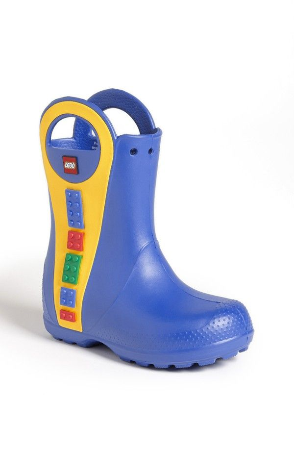 d0a1382959e3fe CROCS™  Handle It - LEGO®  Rain Boot (Walker
