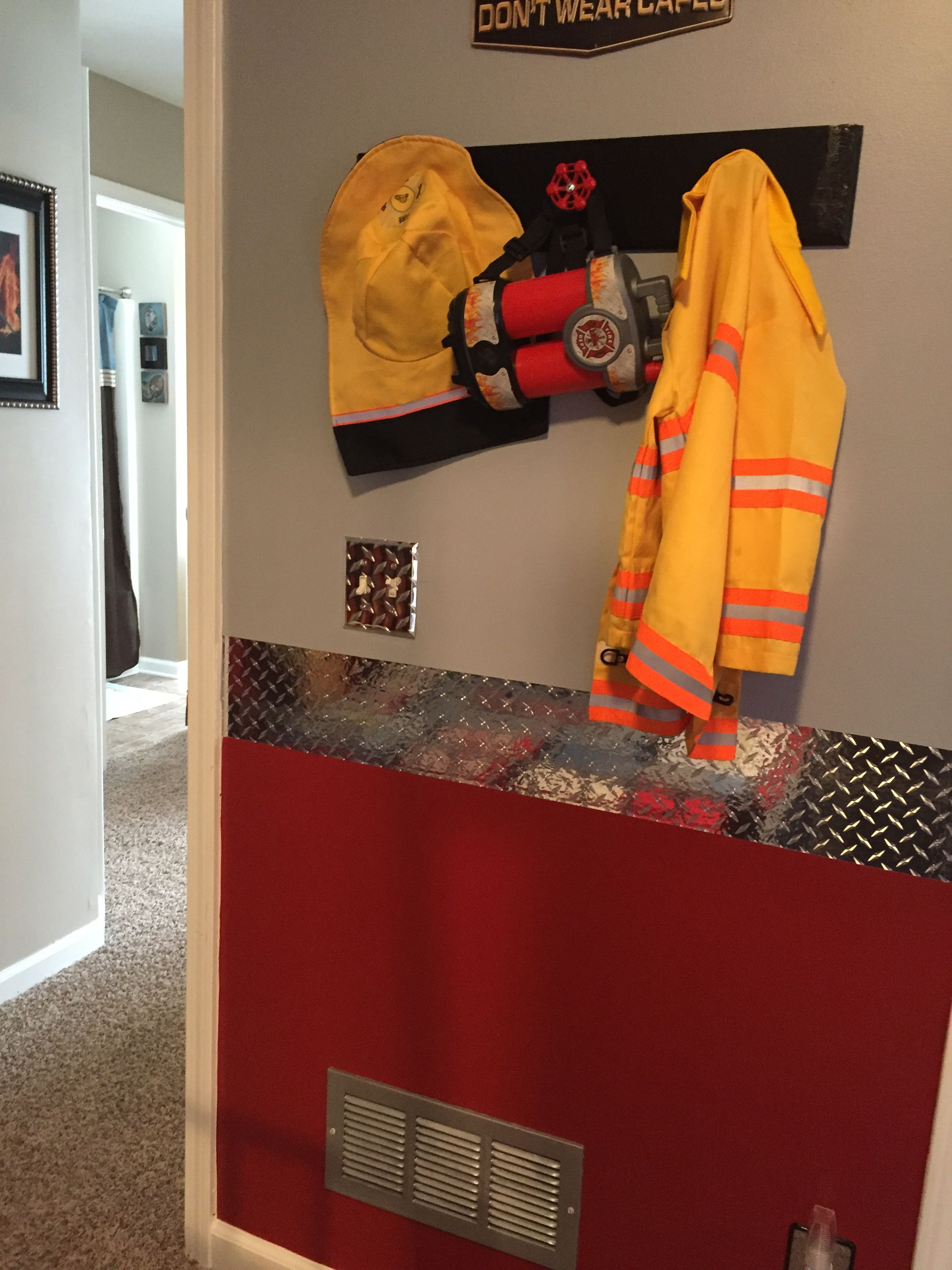 Firefighter Bedroom, Boy Rooms, Firefighters, Boy Nurseries, Boy Room, Room