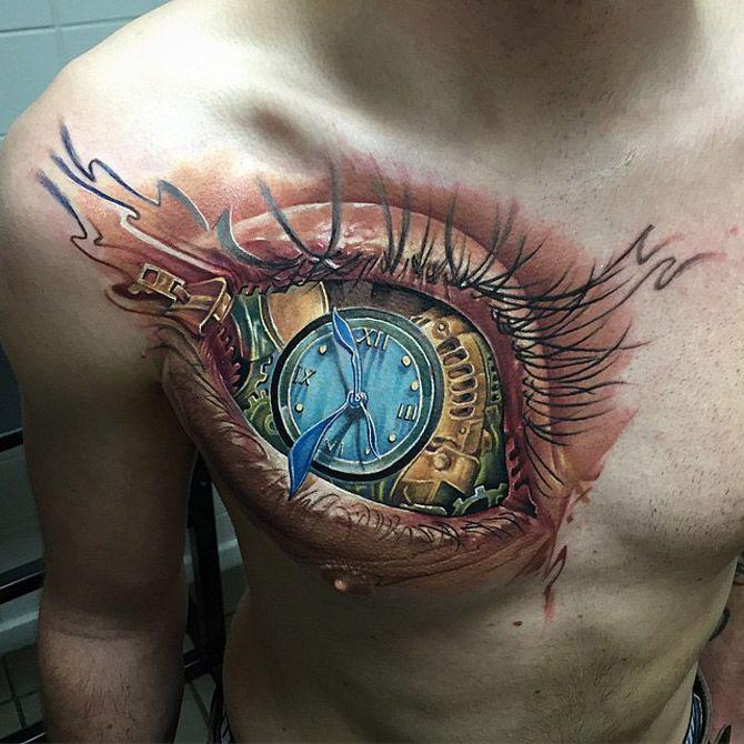 97 Unbeatable Chest Tattoos For Men: Best Tattoo Ideas & Designs