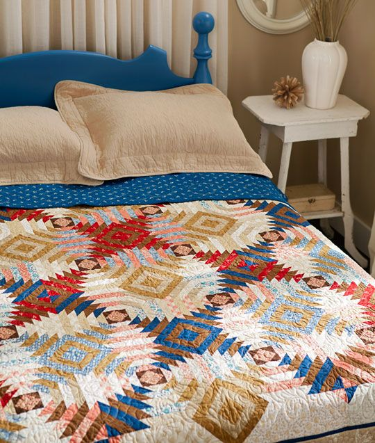 I Like How This Is The Same Idea As A Traditional Log Cabin Quilt.