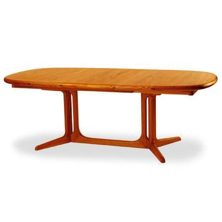 2056 Dining Table  Teak Oval Dining Tables And Extensions Beauteous Scandinavian Teak Dining Room Furniture Inspiration