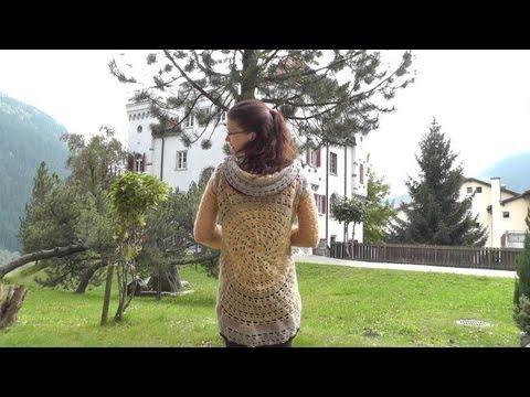 Kreisjacke Häkelanleitung Für Anfänger Woolpedia Youtube Kötés