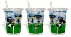 Philadelphia Eagles To-Go Sippy Cup 3-Pack $9.99 http://www.fansedge.com/Philadelphia-Eagles-To-Go-Sippy-Cup-3-Pack-_1029657072_PD.html?social=pinterest_pfid50-03401