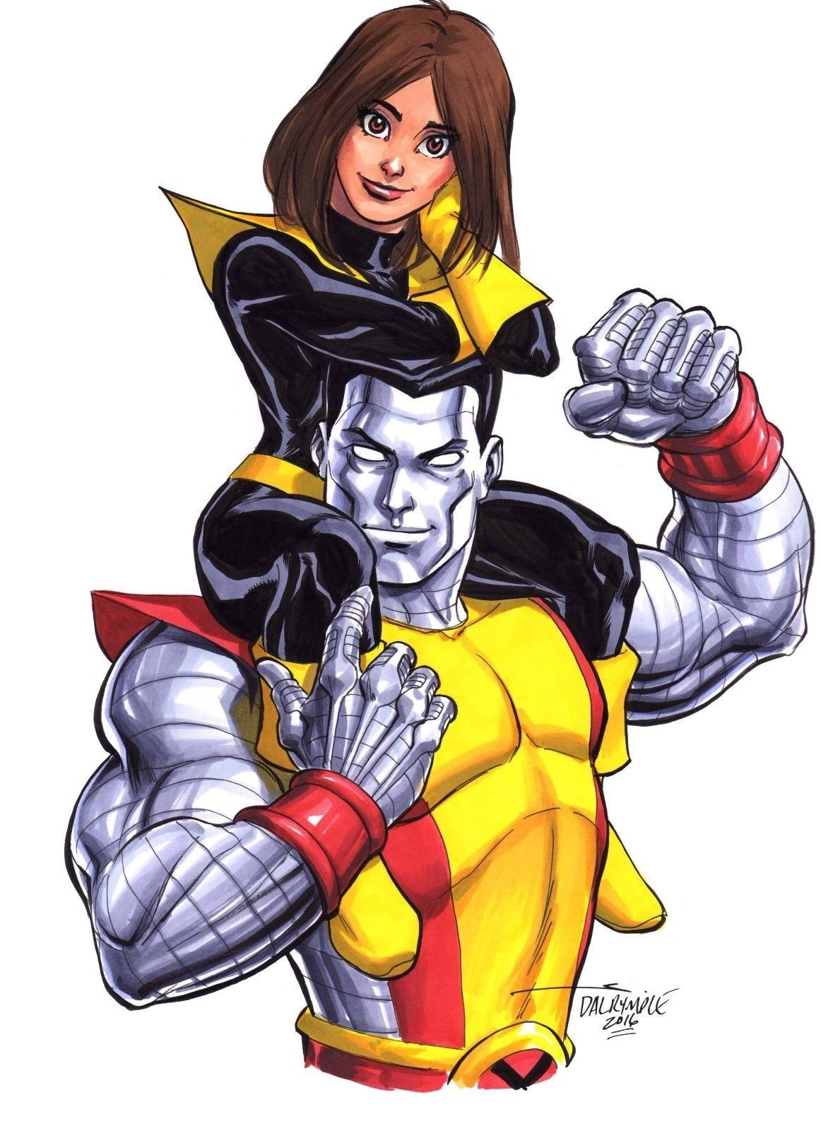 Kitty Pryde leaving Colossus at the altar is everything we ... |Shadowcat And Colossus Child