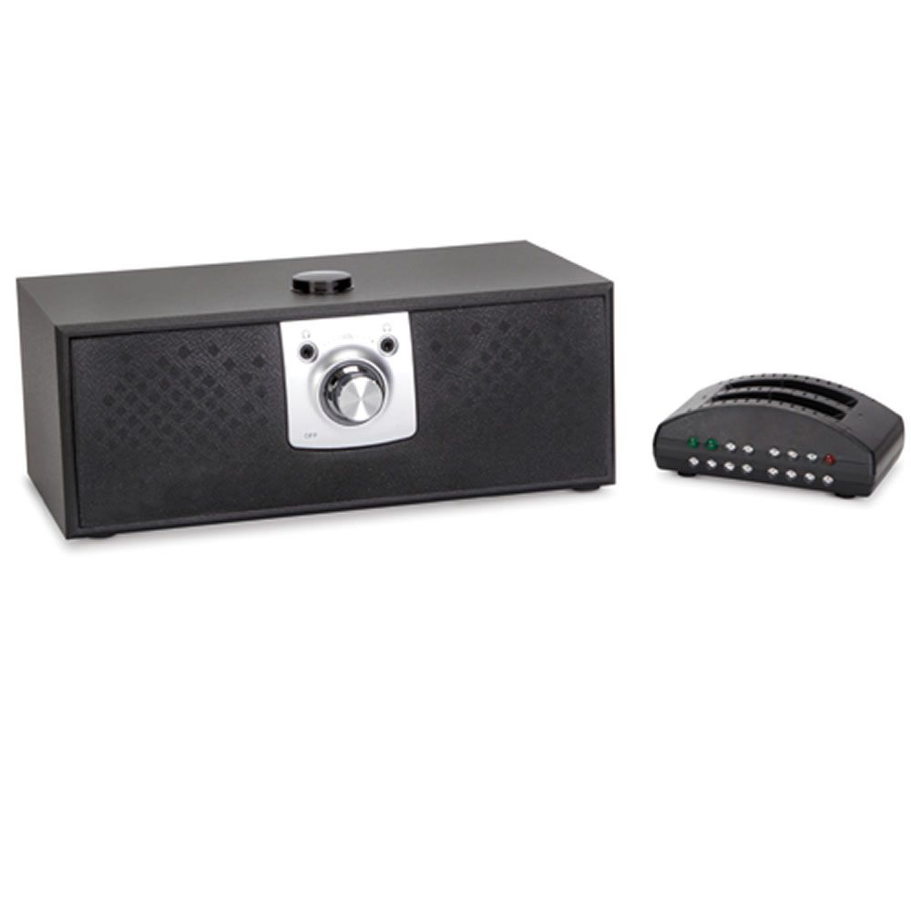 The Voice Clarifying TV Speaker - Hammacher Schlemmer