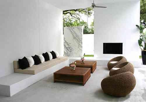 Amenagement Exterieur Contemporain En 28 Beaux Exemples Modern Outdoor Spaces Room Design Meditation Room