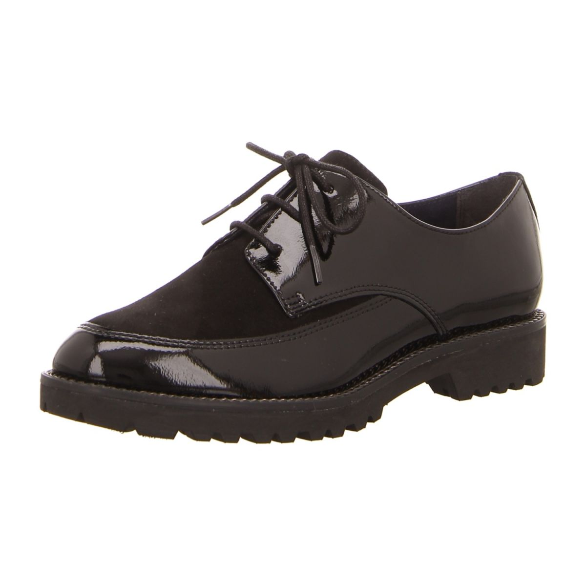 Tamaris Schnürer schwarz   Halbschuhe, Damenschuhe, Schuhe