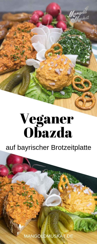 Veganer Obazda - Rezept von Mangold & Muskat