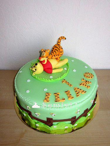 winnie pooh tijgertje taart