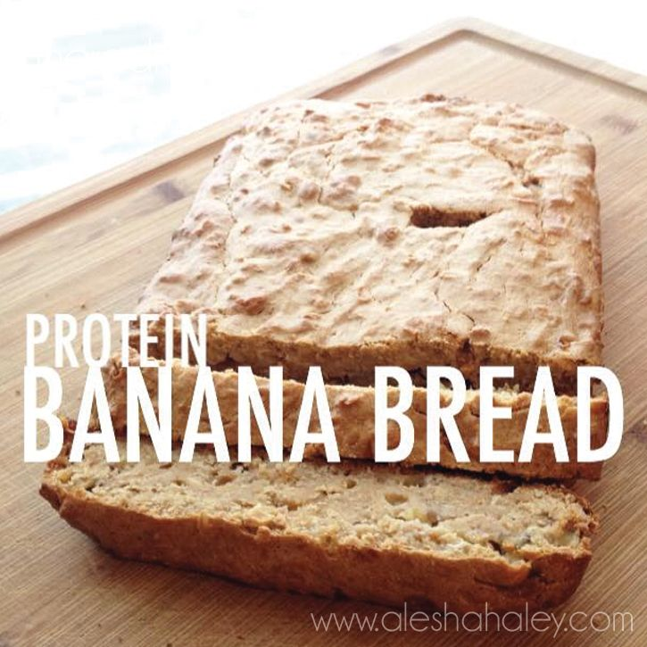 Protein Banana Bread {Clean Eating}