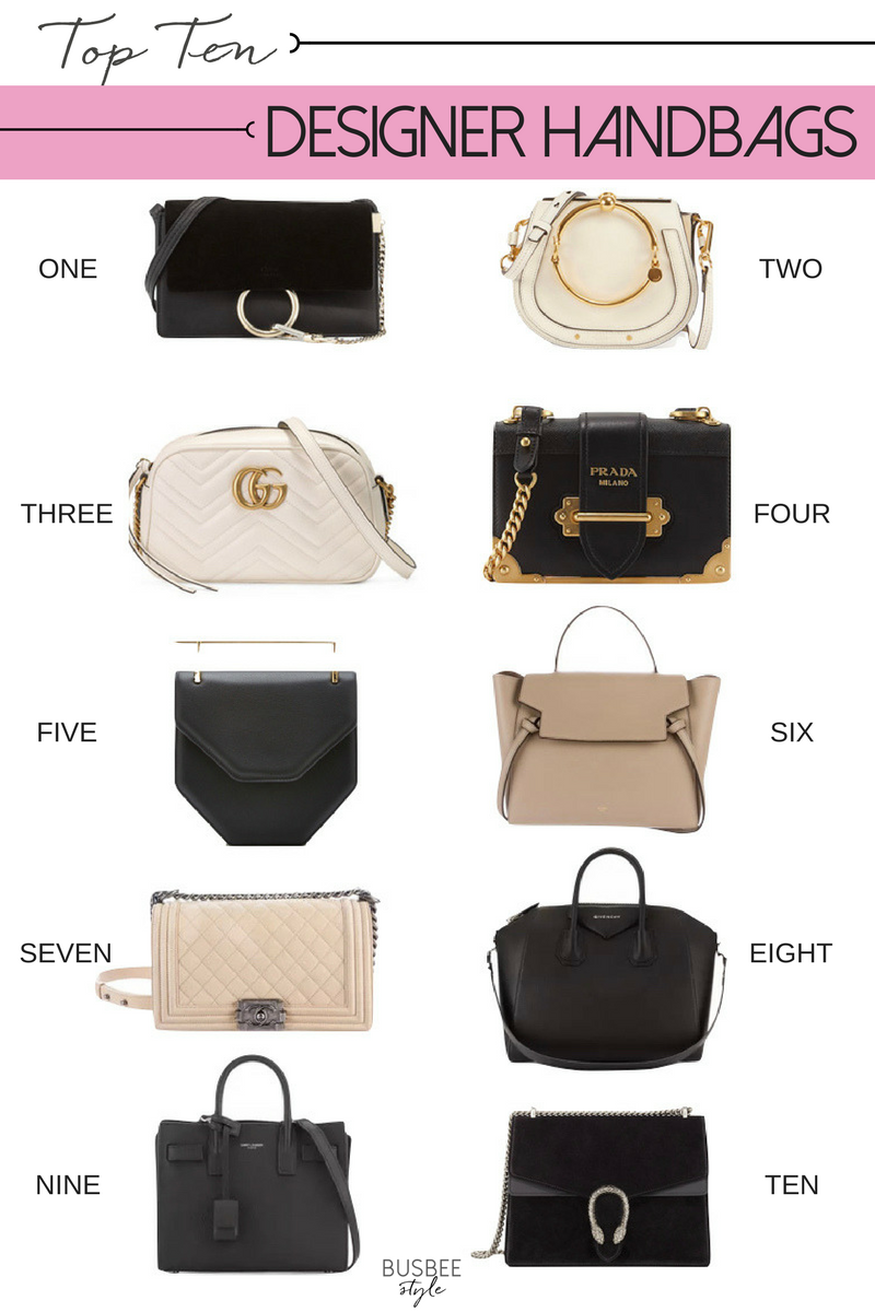 Top 10 Most Coveted Designer Handbags And Dupes For Less