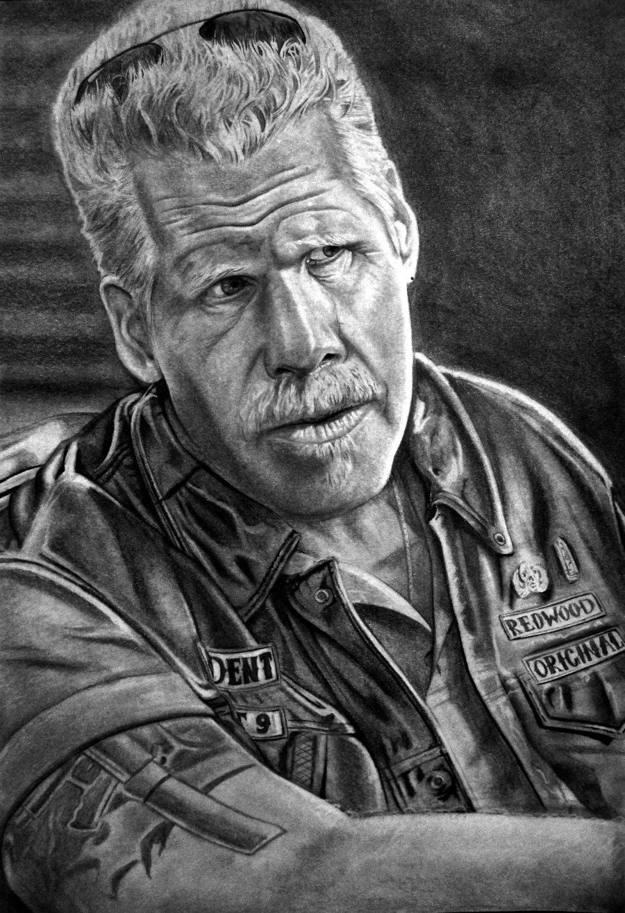 Ron Perlman As Clay By Brokenpuppet86 On Deviantart Sons Of Anarchy Movie Sons Of Anarchy Sons Of Anachy