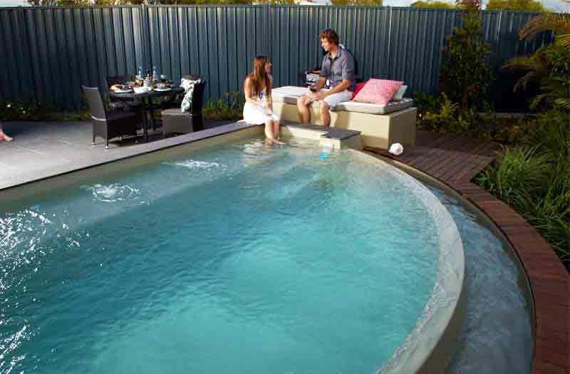 Leisure Pools Horizon Pool Model Cool Pools Pinterest Enchanting Beautiful Backyard Pools Model