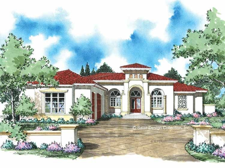 Eplans italianate house plan room to relax 3166 square for Eplans mediterranean house plans