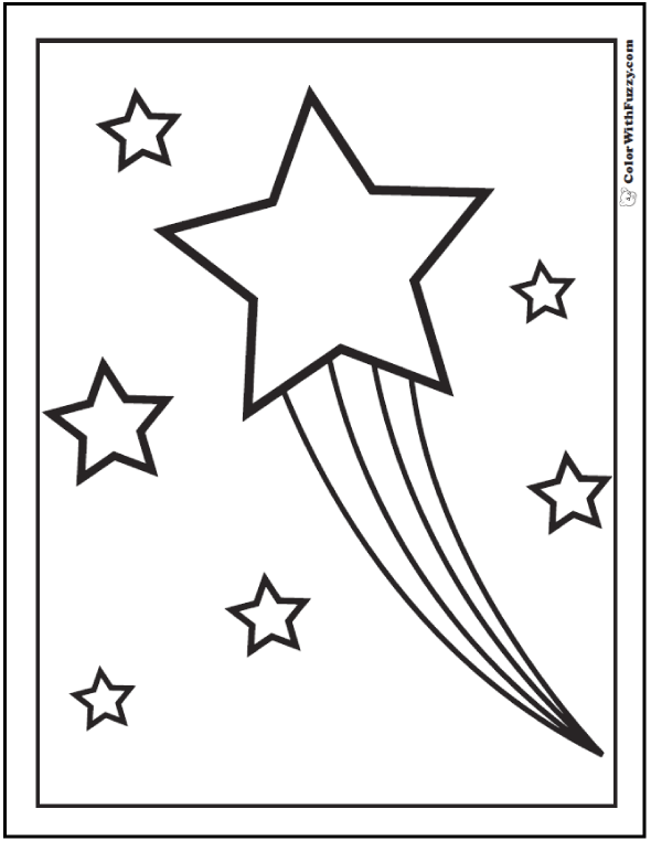 60 Star Coloring Pages Customize And Print Ad Free Pdf In 2020 Star Coloring Pages Coloring Pages Space Coloring Pages
