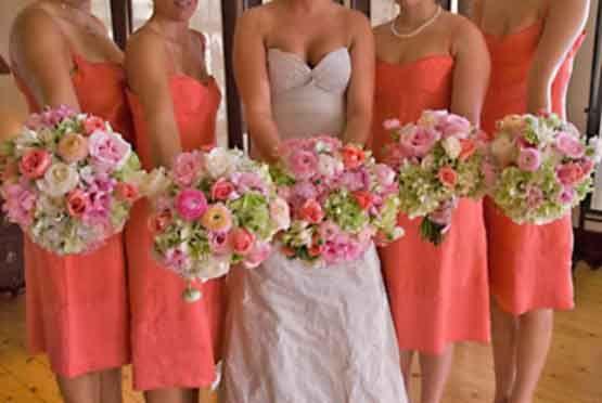 coral wedding wedding flowers pinterest weddings wedding and
