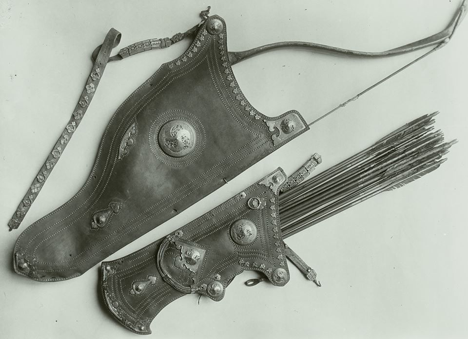 17th century Ottoman archery equipment, Historisches Museum, Dresden, Germany