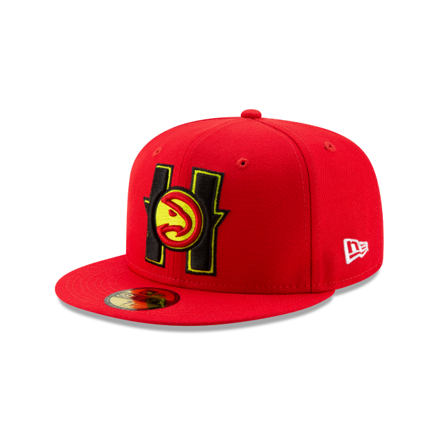 ATLANTA HAWKS NBA AUTHENTICS BACK HALF 59FIFTY FITTED. Find this Pin and  more on NBA by New Era ... a1f3965e968
