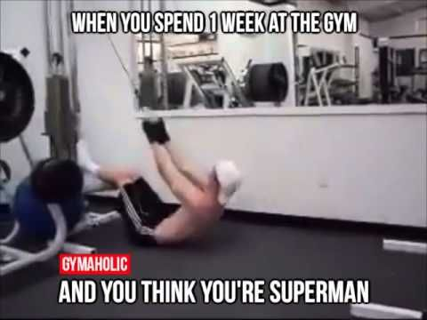 f9befbcd8113e23a71154ceb20a52ba2 gym fail, you can't handle the weight funny gifs pinterest gym