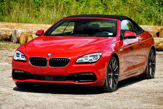 Photo Picture 3 Review 2016 Bmw 650i Convertible With Images