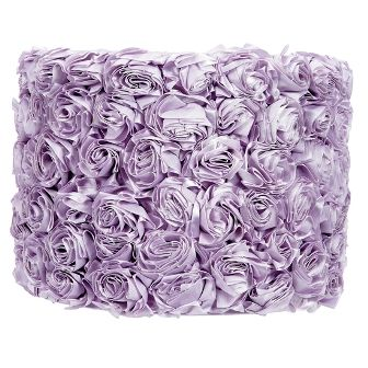 Rose Garden Lavender|Fab Style Kids Rooms http://fabstylekidsrooms.com/Lighting/Lamp-Shades/Rose-Garden-Lavender #lampshade #babygirl #expecting #purple