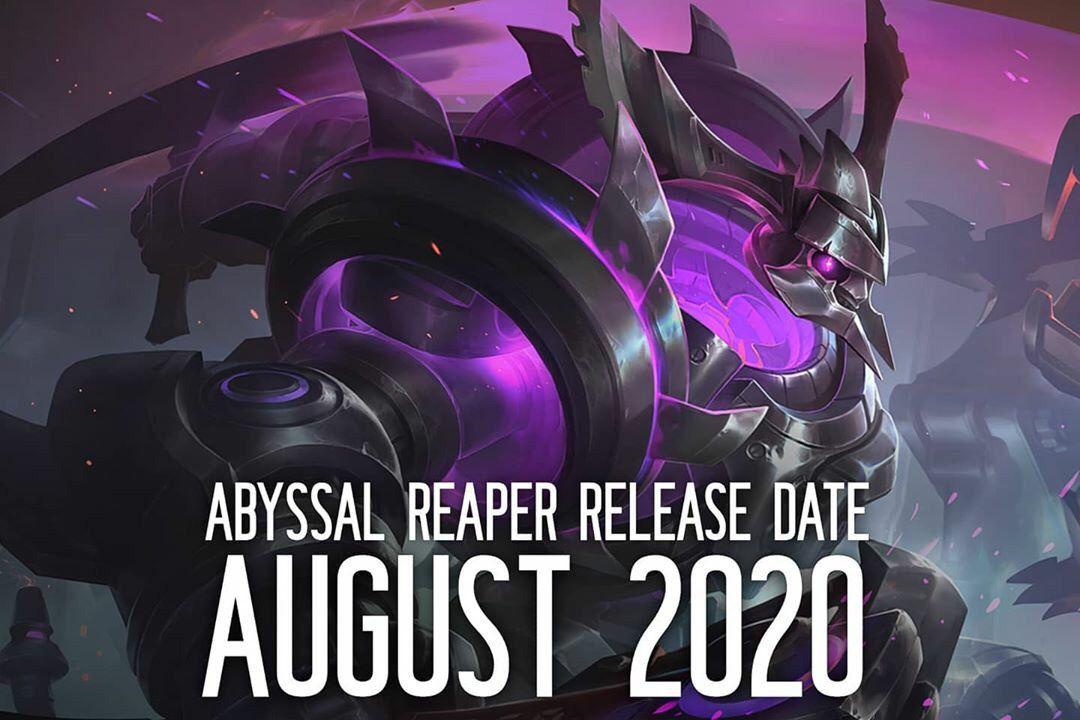 Thamuz Abyssal Reaper Skin Releases On August 2020