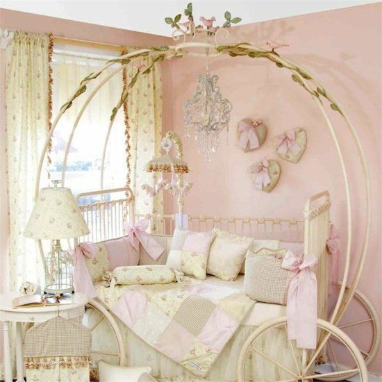 girl room cinderella bed