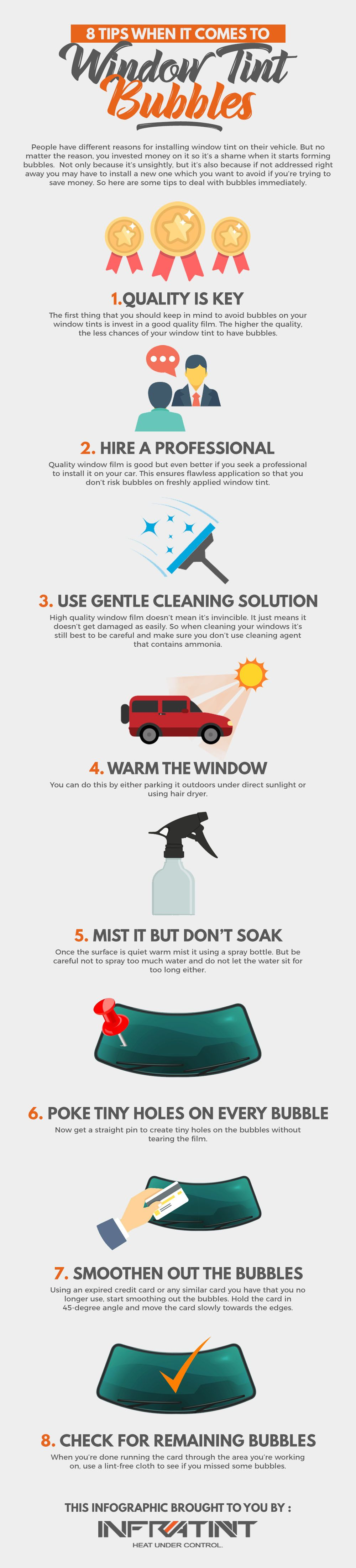 8 Tips When It Comes To Window Tint Bubbles Tinted Windows Tints Window Tint Film