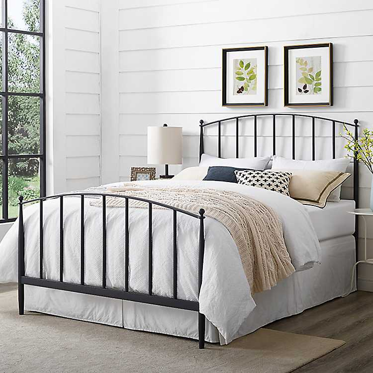 Whitley Metal Slat Full/Queen Bed Headboard and