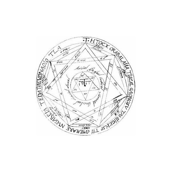 Devils Trap Symbol Liked On Polyvore Featuring Fillers