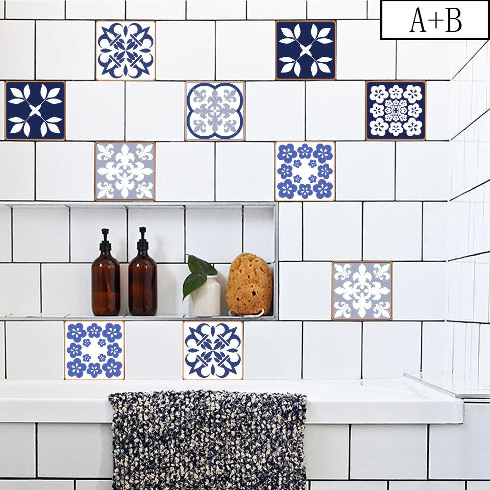 self adhesive 3d tile wall sticker diy