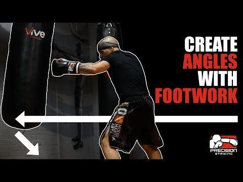 How To Create Angles With Footwork Youtube Boxing Techniques Boxing Training Workout Self Defense Moves