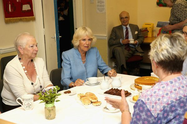Camilla Parker Bowles Photos Photos: The Prince of Wales & Duchess of Cornwall Visit Wales - Day 3 #visitwales Camilla, Duchess of Cornwall meets ladies from the local WI during a visit to the Llandovery YMCA on 8th July 2015, in Llandovery, Wales. #visitwales