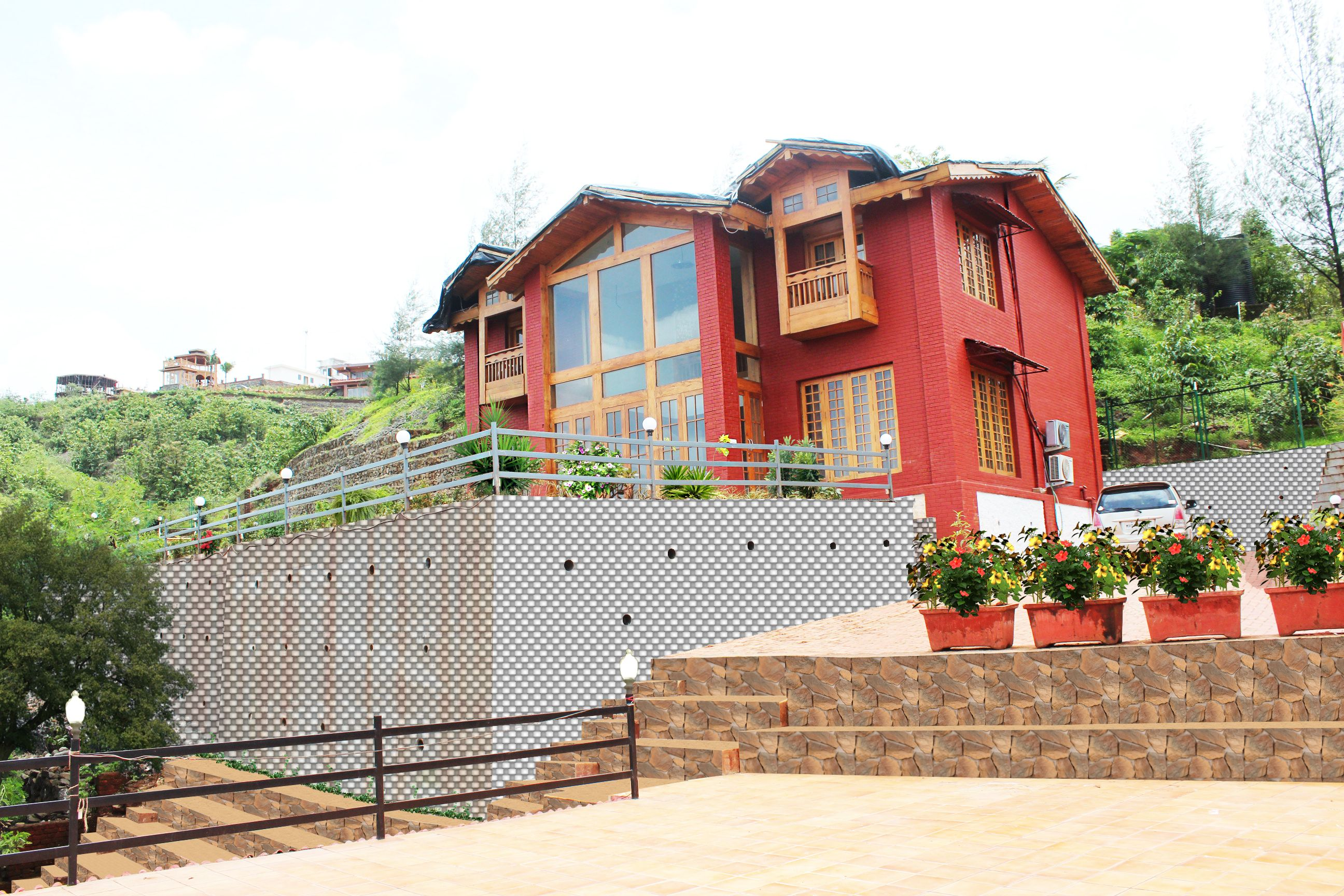3BHK Valley view fully furnished villa at Amarja Hills,