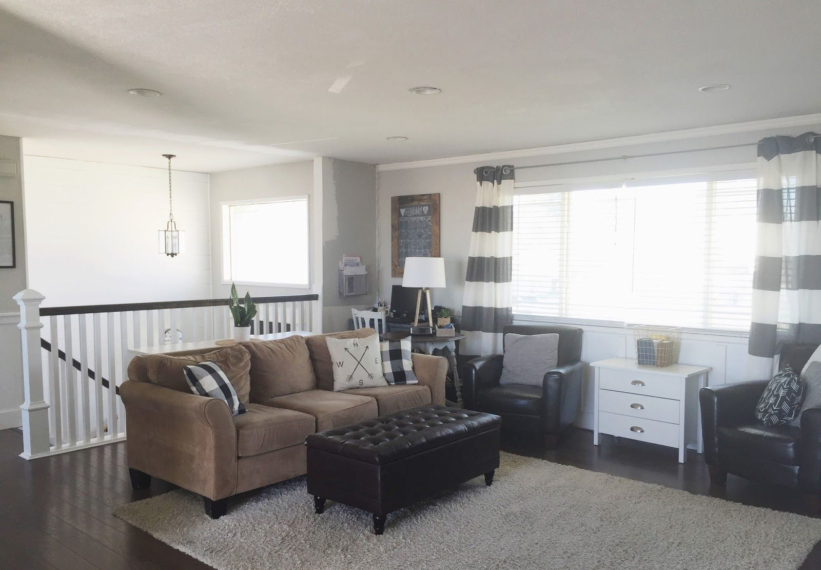 Keep Home Simple Our Split Level Fixer Upper Living Room
