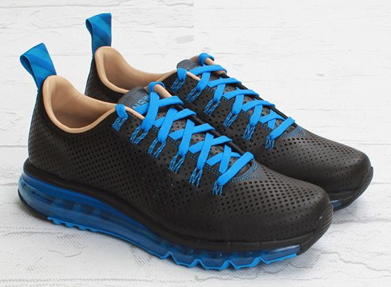 best service a835f 4f1d0 Nike Air Max Motion NSW - Black - Photo Blue - SneakerNews ...