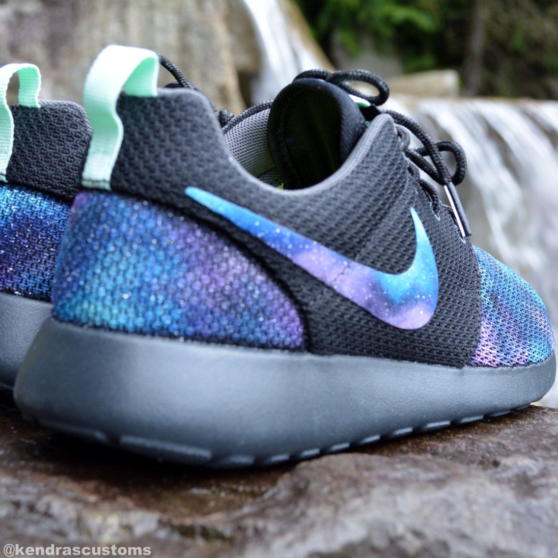Galaxy Roshe Made to Order Women's Nike Rosherun by KendrasCustoms